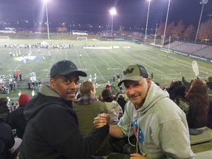 Dominic attended Portland State University Vikings vs. Idaho State - NCAA Fooball on Nov 3rd 2018 via VetTix