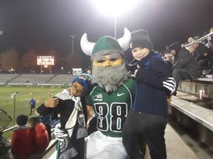 Don attended Portland State University Vikings vs. Idaho State - NCAA Fooball on Nov 3rd 2018 via VetTix