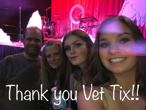 Lyle attended 95. 7 the Party Presents Noah Cyrus on Oct 13th 2018 via VetTix