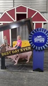 Kate attended Arizona State Fair Armed Forces Day - Tickets Are Only Good for Oct. 19 - *See Notes on Oct 19th 2018 via VetTix