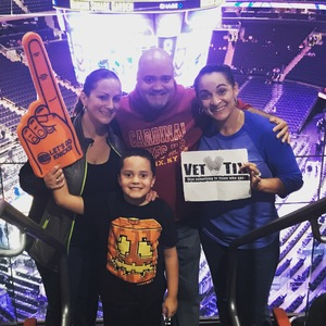 Gloria attended New York Knicks vs. Washington Wizards - NBA on Oct 8th 2018 via VetTix