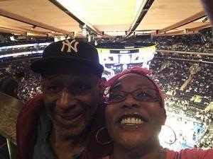Corvina attended New York Knicks vs. Washington Wizards - NBA on Oct 8th 2018 via VetTix