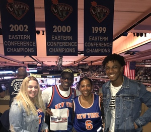 Darrell attended New York Knicks vs. Washington Wizards - NBA on Oct 8th 2018 via VetTix