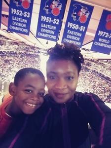 vivien attended New York Knicks vs. Brooklyn Nets - NBA on Oct 12th 2018 via VetTix