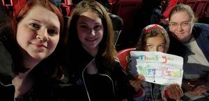Kate attended Ed Sheeran: 2018 North American Stadium Tour - Pop on Oct 13th 2018 via VetTix