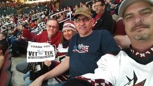 Click To Read More Feedback from Arizona Coyotes vs. Buffalo Sabres - NHL