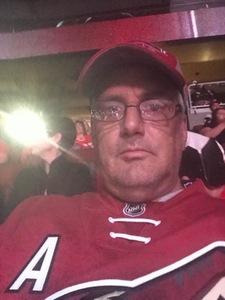 Danny attended Arizona Coyotes vs. Buffalo Sabres - NHL on Oct 13th 2018 via VetTix