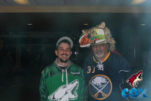 Coyote Joe attended Arizona Coyotes vs. Buffalo Sabres - NHL on Oct 13th 2018 via VetTix