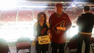 Mitchell attended Arizona Coyotes vs. Buffalo Sabres - NHL on Oct 13th 2018 via VetTix