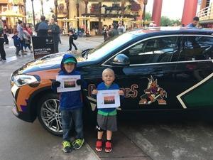 Edmund attended Arizona Coyotes vs. Buffalo Sabres - NHL on Oct 13th 2018 via VetTix