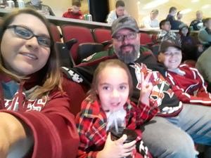 Sergio attended Arizona Coyotes vs. Buffalo Sabres - NHL on Oct 13th 2018 via VetTix
