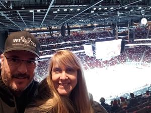 Michael attended Arizona Coyotes vs. Buffalo Sabres - NHL on Oct 13th 2018 via VetTix