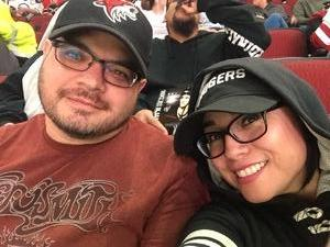 David attended Arizona Coyotes vs. Buffalo Sabres - NHL on Oct 13th 2018 via VetTix