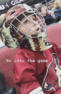 Robert attended Arizona Coyotes vs. Buffalo Sabres - NHL on Oct 13th 2018 via VetTix