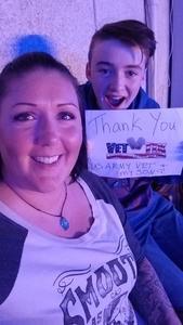 Jolene attended Old Dominion Happy Endings World Tour on Oct 4th 2018 via VetTix