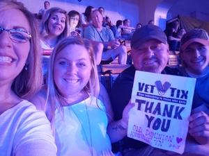 Stanley attended Old Dominion Happy Endings World Tour on Oct 4th 2018 via VetTix
