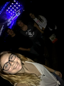 Kimball McAfee and family attended Old Dominion Happy Endings World Tour on Oct 4th 2018 via VetTix