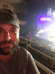 Dustin attended Old Dominion Happy Endings World Tour on Oct 4th 2018 via VetTix