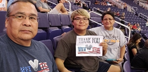 Click To Read More Feedback from Phoenix Suns vs. Nz Breakers - NBA