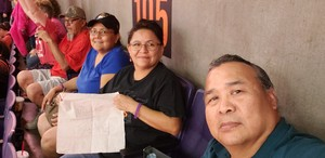 Wil attended Phoenix Suns vs. Portland Trail Blazers - NBA on Oct 5th 2018 via VetTix