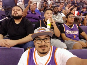 Anthony attended Phoenix Suns vs. Portland Trail Blazers - NBA on Oct 5th 2018 via VetTix