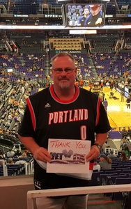 johnny attended Phoenix Suns vs. Portland Trail Blazers - NBA on Oct 5th 2018 via VetTix