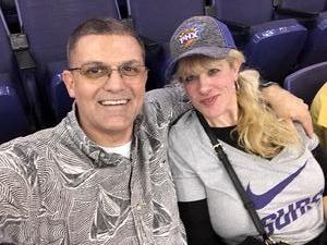 Edward attended Phoenix Suns vs. Portland Trail Blazers - NBA on Oct 5th 2018 via VetTix
