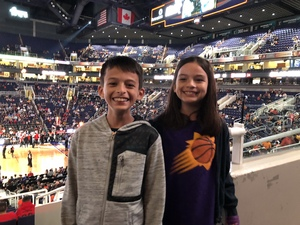Alex attended Phoenix Suns vs. Portland Trail Blazers - NBA on Oct 5th 2018 via VetTix