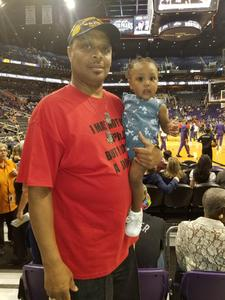 Kevin attended Phoenix Suns vs. Portland Trail Blazers - NBA on Oct 5th 2018 via VetTix