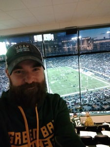 Michael attended Green Bay Packers vs. San Francisco 49ers - NFL on Oct 15th 2018 via VetTix