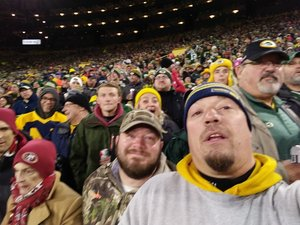 Jason attended Green Bay Packers vs. San Francisco 49ers - NFL on Oct 15th 2018 via VetTix