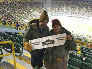 Gerald attended Green Bay Packers vs. San Francisco 49ers - NFL on Oct 15th 2018 via VetTix