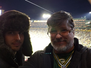 Kim attended Green Bay Packers vs. San Francisco 49ers - NFL on Oct 15th 2018 via VetTix