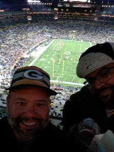 Shawn attended Green Bay Packers vs. San Francisco 49ers - NFL on Oct 15th 2018 via VetTix