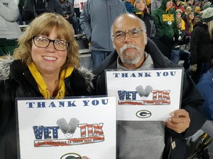 John attended Green Bay Packers vs. San Francisco 49ers - NFL on Oct 15th 2018 via VetTix