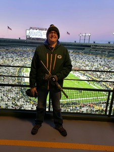 Christopher attended Green Bay Packers vs. San Francisco 49ers - NFL on Oct 15th 2018 via VetTix