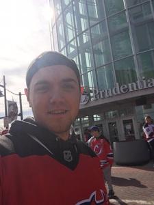 Trevor attended New Jersey Devils vs. Washington Capitals - NHL on Oct 11th 2018 via VetTix