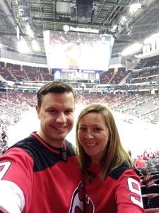 Travis attended New Jersey Devils vs. Washington Capitals - NHL on Oct 11th 2018 via VetTix