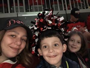 Arthur attended New Jersey Devils vs. Washington Capitals - NHL on Oct 11th 2018 via VetTix