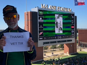Ken Wehmeyer attended Baylor vs. Oklahoma State - NCAA Football on Nov 3rd 2018 via VetTix