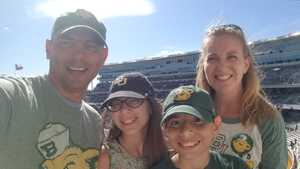 Sandra attended Baylor vs. Oklahoma State - NCAA Football on Nov 3rd 2018 via VetTix