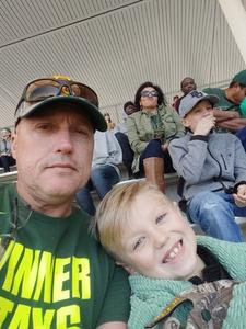 Keith attended Baylor vs. Oklahoma State - NCAA Football on Nov 3rd 2018 via VetTix
