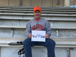 William attended Baylor vs. Oklahoma State - NCAA Football on Nov 3rd 2018 via VetTix