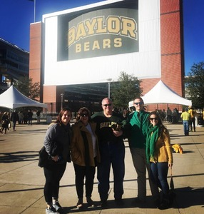 Jon attended Baylor Bears vs. TCU - NCAA Football on Nov 17th 2018 via VetTix