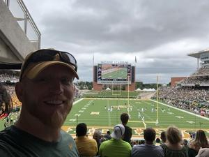 Michael attended Baylor Bears vs. TCU - NCAA Football on Nov 17th 2018 via VetTix