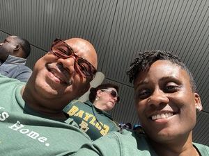 Bridget attended Baylor Bears vs. TCU - NCAA Football on Nov 17th 2018 via VetTix