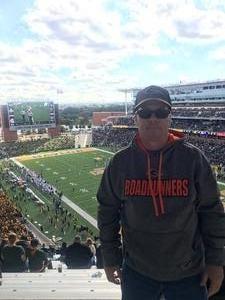 Scott attended Baylor Bears vs. TCU - NCAA Football on Nov 17th 2018 via VetTix