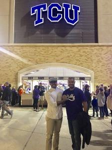 Charles attended Baylor Bears vs. TCU - NCAA Football on Nov 17th 2018 via VetTix