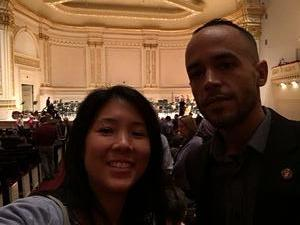 Emilio attended A Walt Whitman Sampler - Presented by the American Symphony Orchestra on Oct 17th 2018 via VetTix