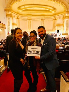 Carlos attended A Walt Whitman Sampler - Presented by the American Symphony Orchestra on Oct 17th 2018 via VetTix